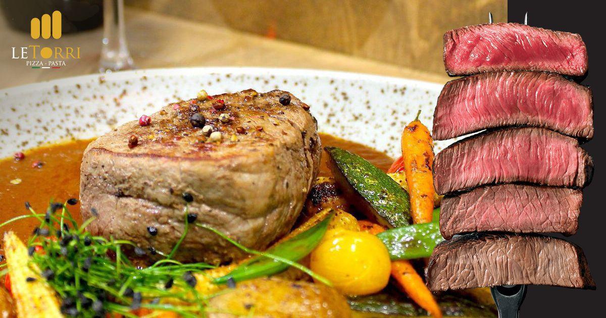Steaky: Stupne ich prepečenia a TOP druhy steakov